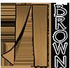 Brown 36x83 Screen Door